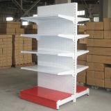 Les matériaux de construction d'un supermarché de présentoir