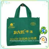 Saco de empacotamento não tecido de empacotamento não tecido do saco da cerveja do saco de Eco do saco do costume