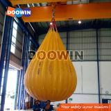 Testes Profload grua sacos de peso de água com certificado BV