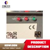 Piegatrice di barra dell'acciaio elettrico della costruzione di certificazione 3kw/380V del Ce per 4-40mm