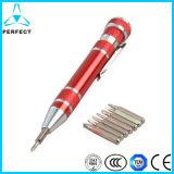 多機能の小型のペンの形のスクリュードライバー