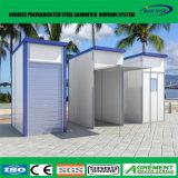 Camera mobile portatile di vetro del contenitore moderno modulare prefabbricato prefabbricato della ricostruzione