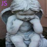 Statue de marbre blanc Angel sculpture pour la décoration Memorial