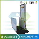 plate-forme domestique verticale de levage de débronchement de l'extérieur 150kg électrique