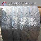 placa de revestimento Checkered de aço do ferro de 6mm Ss400 hora