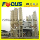 Strumentazione calda del calcestruzzo pronto di vendita, impianto di miscelazione concreto Hzs120