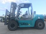 Forklift do caminhão do tirante do recipiente de China 7tons