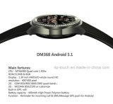 téléphone intelligent Dm368 de montre d'écran de 3G WCDMA IPS