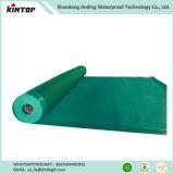 Lo strato d'impermeabilizzazione del PVC della membrana di costruzione protegge i materiali