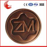 Kundenspezifische Form-Markierungsfahnen-Großhandelsmünze des Metall3d 2D