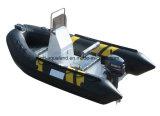 Aqualand 14pieds nervure 4,2 m Bateau à moteur/rigide bateau gonflable (rib420A)
