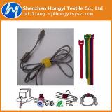 Cintas plásticas mágicas do gancho do baixo preço da fábrica de Shenzhen e da fita do laço