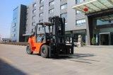 Chinesen stellen eine 7 Tonnen-Seiten-Schaltbenzin LPG-Gabelstapler für Verkauf her