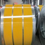 El color al por mayor de la prima PPGI del material de construcción cubierto galvanizó la bobina de acero