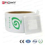 O logotipo personalizado Prelaminated inlay de RFID de PVC para sistema de fidelidade