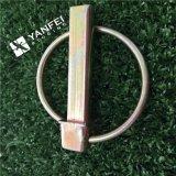 DIN 11023黄色い亜鉛によってめっきされるLinchのピン、安全ピン