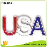 Производство алфавит письмо значки не Imvu MOQ пользовательские пользовательские металлические значки и пользовательские военных эмблемы