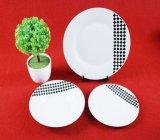 Articoli per la tavola di ceramica di bianco di Eropena Stlye dell'insieme di pranzo