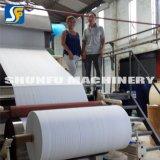 2017 terminar la maquinaria de la producción del papel de papel de tejido de tocador del tejido del rodillo enorme