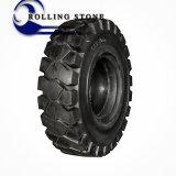 회전 중국에서 돌 고품질 단단한 포크리프트 타이어 6.00-9