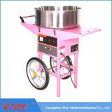 ETL & CE aprobó la máquina eléctrica de la seda del caramelo con el carro y la cubierta
