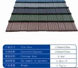 Colorer les tuiles de toit enduites en pierre en métal en Chine pour la construction