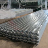 SGCC SPCC of degrees of Roofing material Galvenized Corrugated Steel Tile