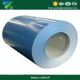 Boa cor PPGI revestido da largura 15/7micron do serviço 600-1250mm