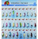 [30بكس] صنّف صيد سمك ملعقة محدّد صيد سمك طعم [كمبو]