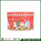 装飾的なクリスマスの円形のペーパーギフト用の箱