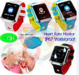 Het waterdichte Slimme Volwassen GPS Horloge van de Drijver met de Monitor van het Tarief van het Hart Y3h