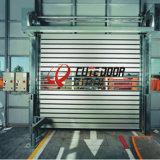 De poeder Met een laag bedekte Deur van de Garage van het Metaal van het Aluminium Harde Materiële Snelle Rolling