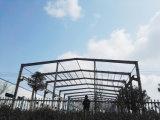 Projet de construction en acier de niveau élevé avec le modèle moderne pour votre choix