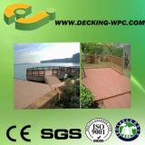 Suelo de madera cómodo impermeable barato del grano WPC de Eco