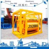 Máquina de mistura concreta elétrica dobro disponível do eixo 2000L do côordenador