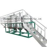 5t/D Refinaria de óleo comestível refinação de óleo de girassol a máquina