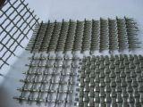На заводе производство оцинкованных барбекю Обжатый провод сетка