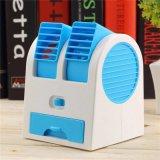 Desktop Bladeless dupla do condicionador de ar de refrigeração USB mini-ventilador pequeno
