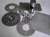 Wuhan CNC máquina de corte láser de fibra de la fábrica de acero al carbono