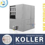 Машина льда кубика Koller 2tons используемая в домочадце гостиницы