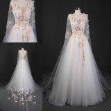 Мантии P0082 платья венчания мантии нового шарика бабочки конструкции Bridal