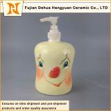Bottiglia di ceramica dello sciampo di disegno del fumetto (decorazione domestica)