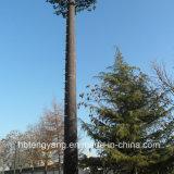 Горячий оцинкованный утаивание сосны стальной башни электросвязи