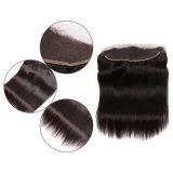 cabelo indiano do Virgin do fechamento do laço do Toupee do cabelo humano do cabelo do cabelo 13X4 reto