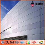 高性能のクラッディングの壁チタニウム亜鉛合成物のパネル