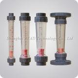 La bride en plastique Rotameter liquide du débitmètre