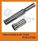 Espulsori a due tappe Zz1695 di alta qualità del doppio di plastica dello stampaggio ad iniezione