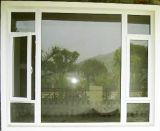 Le premier PVC fixe de double vitrage Incliner-Tournent le guichet