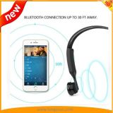 De Hoofdtelefoon van de beengeleiding met 8GB het Geheugen van de Flits als MP3 Speler wordt gebruikt die