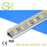 Ce RoHS alto CRI 12V 12mm PCB SMD 5630 Strip Lámpara LED rígidas